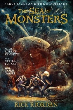 The Sea of Monsters (Percy Jackson and the Olympians 2) by Rick Riordan