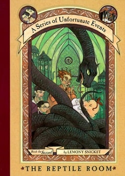 The Reptile Room (A Series of Unfortunate Events 2) by Lemony Snicket